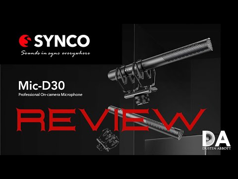 SYNCO camera mic D30 - Flexibility in a variety of situations